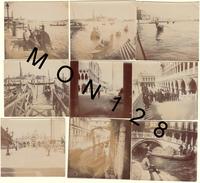 ITALIE - VENISE/VENEZIA - 17 PHOTOS DIVERSES DE 1909 - DIM 6,5x6 Cms - PHOTOS D'EPOQUE - Lieux