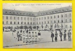 BREST Caserne Du 2° Dépôt. Cour Exercice (ELD) Finistère (29) - Brest