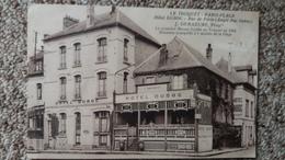 CPA LE TOUQUET PARIS PLAGE 62 HOTEL DUBOC RUE DE PARIS J DEMAZURE PROPRIETAIRE MAISON FONDEE EN 1882 - Le Touquet