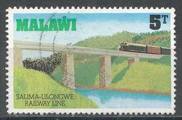 Malawi 1979. Scott #346 (U) Railroad Bridge, Pont - Malawi (1964-...)