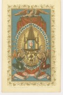Souvenir De Première Communion Et De Confirmation, 1892 - Malines (hm109) - Images Religieuses