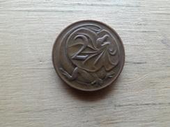 Australie  2  Cents  1981  Km 63 - Monnaie Décimale (1966-...)