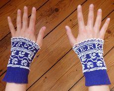 RARE Anciens GANTELETS De Fiançailles GANTS De Mariage Tricot Crochet Et Perles Alsace Costume Alsacien 1890  MERCKLING - Wedding