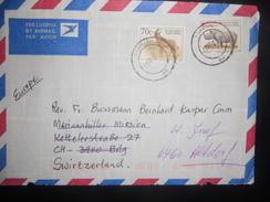 Afrique Du Sud , Lettre De 1997 Pour Brig - Afrique Du Sud (1961-...)