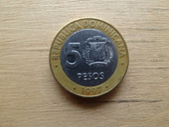 Dominicaine  5  Pesos  1997  Km 88 - Dominicaine
