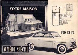Architecture Magazine Tijdschrift Architectuur - Votre Maison  Projects Des Bungalow - Villa Overijse - Ukkel Uccle 1954 - Livres, BD, Revues
