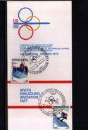 Italien / Italy 1970 Val Gardena World Skiing Champioship Interesting Invitation - Ski