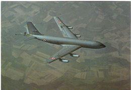 """C135F Appareil De Ravitaillement En Vol Avions De Combat  Avec Tampon """"portes Ouvertes BA Ambérieu En Bugey"""" 27 06 1982 - 1946-....: Modern Era"""