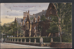 Warwickshire Postcard - Saltley College, Near Birmingham    DC791 - Birmingham