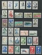 FRANCE - ANNEE COMPLETE 1958 - 47 Timbres Neufs Luxe** Du N° 1142 Au N° 1188. Voir Descriptif. - 1950-1959