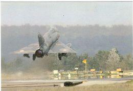 """Mirage III E Avec Tampon """"portes Ouvertes BA Ambérieu En Bugey"""" 27 06 1982 - 1946-....: Modern Era"""