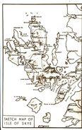 MAPS - SKETCH MAP OF ISLE OF SKYE - Maps