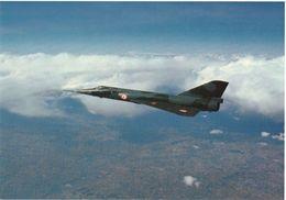 """Mirage IV Avec Tampon """"portes Ouvertes BA Ambérieu En Bugey"""" 27 06 1982 - 1946-....: Modern Era"""