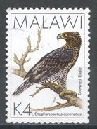 Malawi 1988. Scott #532 (U) Crowned Eagle, Aigle, Bird, Oiseau - Malawi (1964-...)