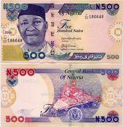 NIGERIA       500 Naira       P-30[o]       2016        UNC - Nigeria