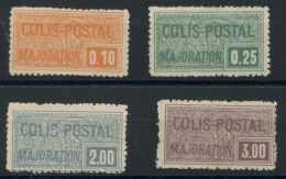 France Colis Postaux (1926) N 77 A 80 (charniere) - Parcel Post