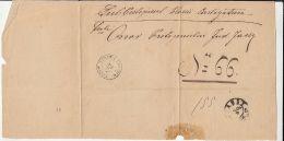 65661- LETTER WRAPPING, SENT FROM TARGU FRUMOS AT IASI, POSTAL STAMPS, ABOUT 1889, ROMANIA-MOLDOVA - 1858-1880 Fürstentum Moldau