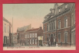 Hollogne-aux-Pierres Justice De Paix ... Jolie Carte Couleur Animée - 1908 ( Voir Verso ) - Grâce-Hollogne