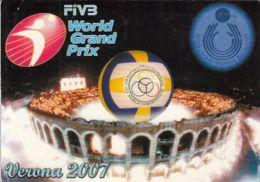 65668- VERONA'07 WORLD VOLLEYBALL CHAMPIONSHIP, ARENA, PANORAMA BY NIGHT - Volleyball