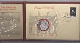 Belgie - Belgique Numisletter 1860 - Internationaal Rubensjaar 1977 - Numisletters