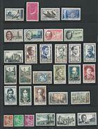 FRANCE - ANNEE COMPLETE 1957 - 52 Timbres Neufs Luxe** Du N° 1091 Au N° 1141. Voir Descriptif. - 1950-1959