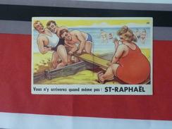 83 Carte à Système Vous N'y Arriverez Quand Même Pas Saint Raphaël - Saint-Raphaël