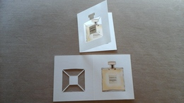 CHANEL :GABRIELLE   Superbe Carte  2 Volets;  Fermé/ouvert - Cartes Parfumées