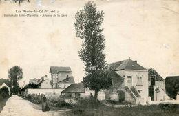 LES PONTS DE CE  =  Section De Saint-Maurille : Avenue De La Gare - Les Ponts De Ce