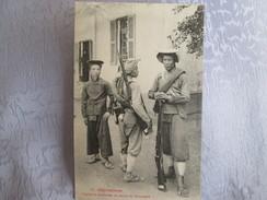 Cochinchine ;   Tirailleurs Annamites En Tenue De Campagne - Viêt-Nam