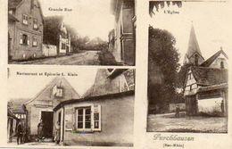 CPA - FURCHHAUSEN(67) - Carte Multi-Vues Avec Restaurant Et Epicerie Klein En 1936 - Autres Communes