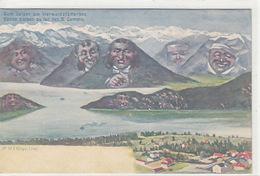 Gute Saison Am Vierwaldstättersee - Berggesichter      (P-89-00924) - LU Lucerne