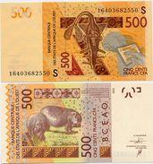 WEST AFRICAN STATES   S: Guinea Bissau        500 Francs       P-919S[d]       2003 - (20)16       UNC - Estados De Africa Occidental