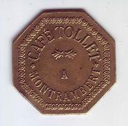 Monnaie De Nécessité - LOIRE 42 - La Ricamarie. Café TOLLET à Montrambert. 12 1/2c - - Monetari / Di Necessità