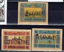 TRK+ Transkaukasien 1923 Mi 13-15 Symbole - Asia (Other)
