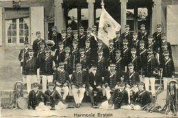 CPA - ERSTEIN (67) - Carte-Souvenir De L'Orchestre Harmonie D'Erstein Pour Le Baptême Du Drapeau En Août 1906 - France