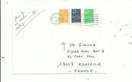 1 L à 1.41 Euro .avec 3 LAMOUCHE.( Dont 1 Photocopie Couleur)...  Oblitérée DEATH VALLEY...(USA)...........à Voir. - France