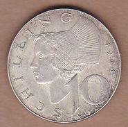 AC - AUSTRIA 1971 10 SCHILLING SILVER COIN KM#2882 - Austria