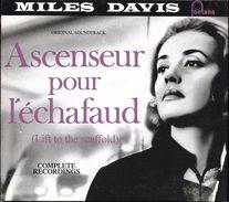 """B-O-F  Milles Davis / Jeanne Moreau  """"   Ascenseur Pour L'échafaud  """" - Soundtracks, Film Music"""