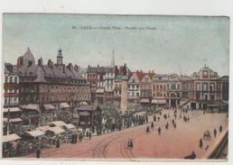 CPA:  LILLE  (Dpt59):    Grande Place  -  Marché Aux Fleurs  En1932.  (très Animé)    (D1852) - Lille