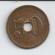 Jeton Monnaie De Nécessite Namur-asile St Martin à Dave - Monétaires / De Nécessité