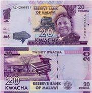 MALAWI       20 Kwacha       P-63[c]       1.1.2016       UNC  [ Sign. Chuka ] - Malawi