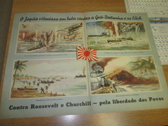 Poster Affiche WWII Deuxieme Guerre Mondiale Pacific War USA Japan - Posters