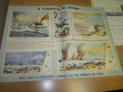 Poster Affiche WWII Deuxieme Guerre Mondiale France UK England Canada Germany Dieppe Battle - Posters