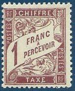 FRANCE NEUF** LUXE Taxe Y&T N°40   Valeur: 32,00 - Taxes