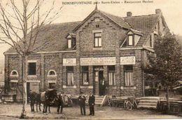 CPA - Environs De SARRE-UNION (67) BONNEFONTAINE - Aspect De La Ferme-Auberge Decker En 1924 - Autres Communes
