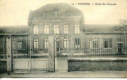 N°56423 -cpa Feignies -école Des Garçons- - Feignies