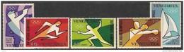 Venezuela 1968 Yvertn° LP PA 951-955 *** MNH Cote 85 FF Sport - Venezuela