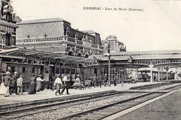 CAMBRAI GARE DU NORD (EXTERIEUR) - Cambrai