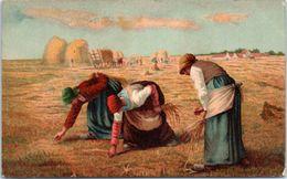 Culture - Agriculteur - Glaneur De Pommes De Terre (Tableaux, Art) - Cultures