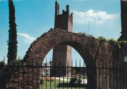 ROVIGO,VENETO. JARDINES CON LA TORRE DONA - ITALIA/L'ITALIE/ITALY - CIRCA 1990S - BLEUP - Rovigo